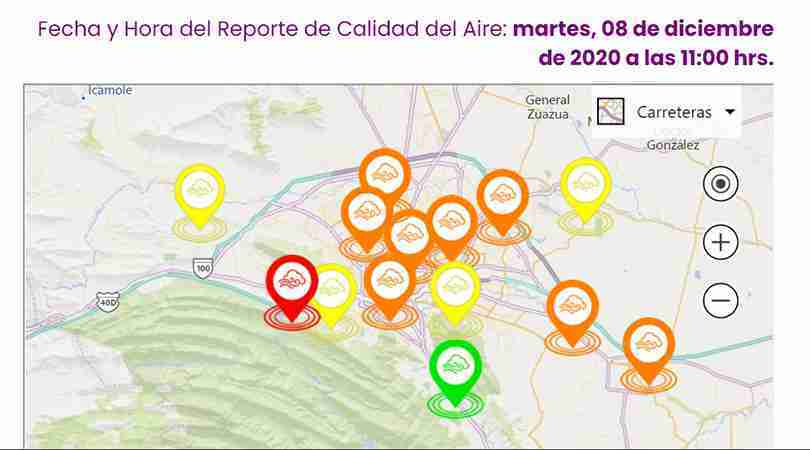 calidad aire nl